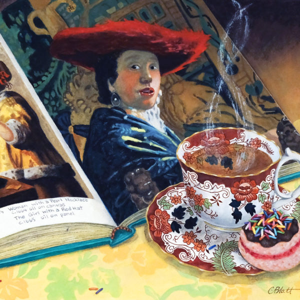 Have Tea With an Artist Series